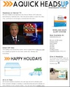 December 2011 Email Newsletter