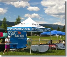 HeadsUp Event Tent
